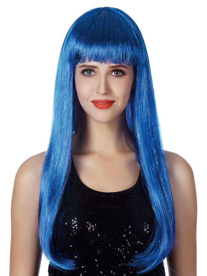 Shops Full Bang Long Straight Party Cosplay Synthetic Wig