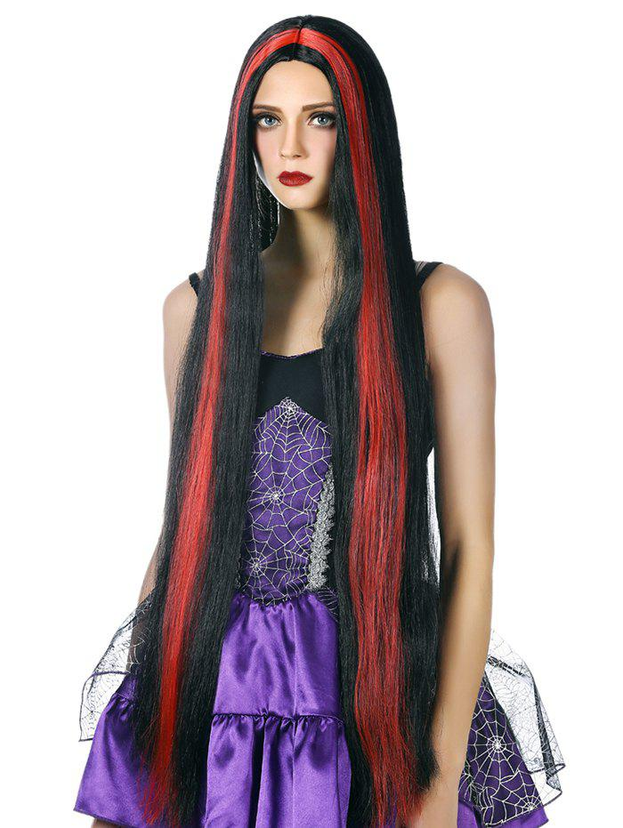 Fashion Ultra Long Straight Cosplay Synthetic Wig