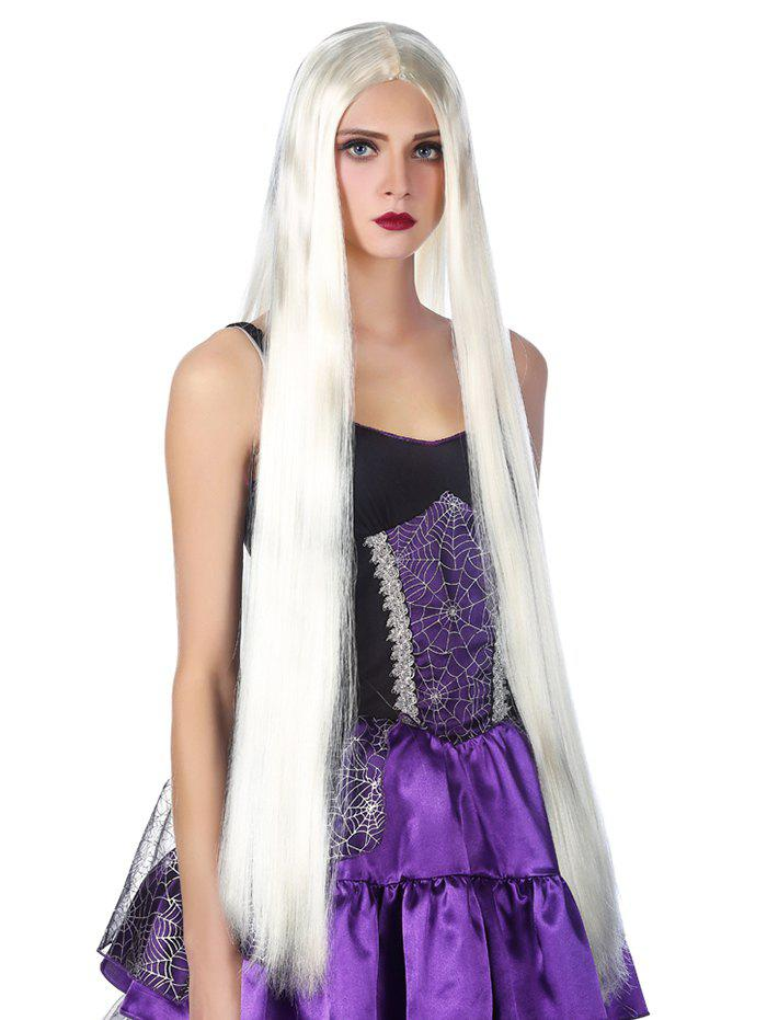 Trendy Ultra Long Straight Cosplay Synthetic Wig