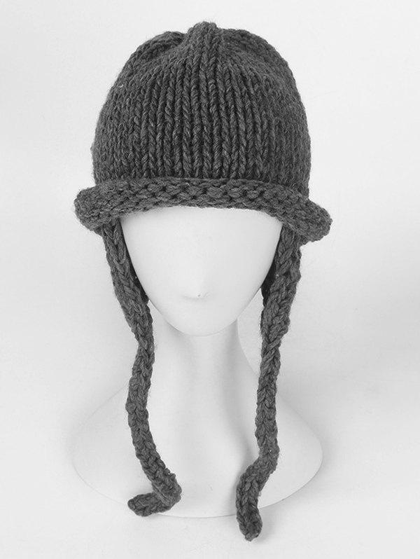 Outfit Solid Color Knitted Winter Beanie