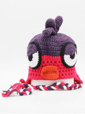 Cartoon Chick Knitted Winter Beanie