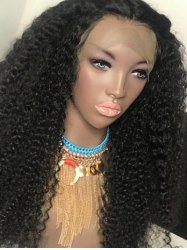 Synthetic Long Afro Curly Lace Front Wig -
