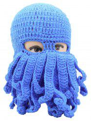 Novelty Octopus Pattern Knit Cap -