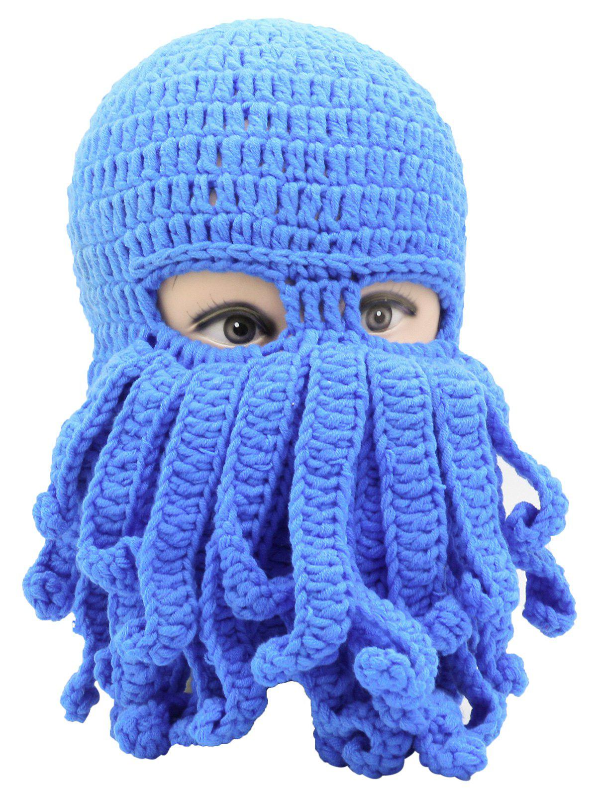 Shops Novelty Octopus Pattern Knit Cap