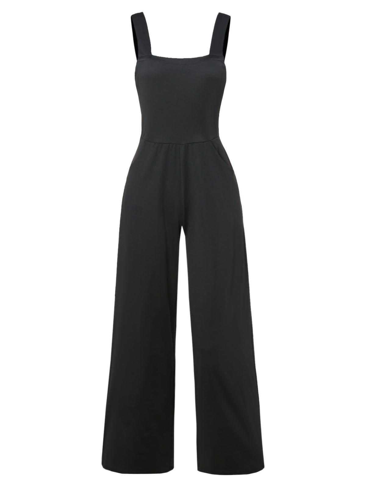 New Overall Wide Leg Jumpsuit