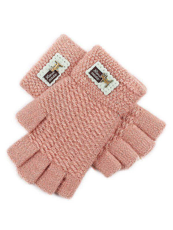 Unique Fingerless Knit Gloves