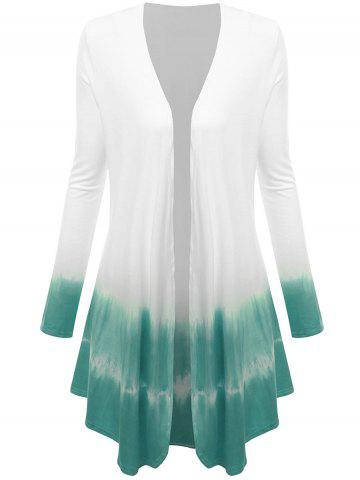 Open Front Ombre Cardigan