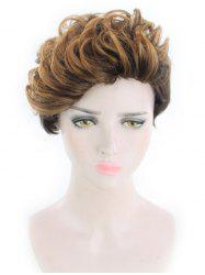 Short Side Fringe Fluffy Wavy Synthetic Wig -