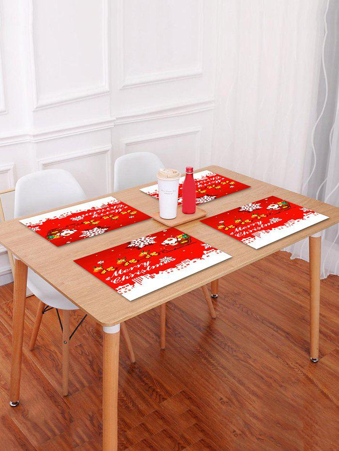 Cheap Christmas City Pattern Placemat