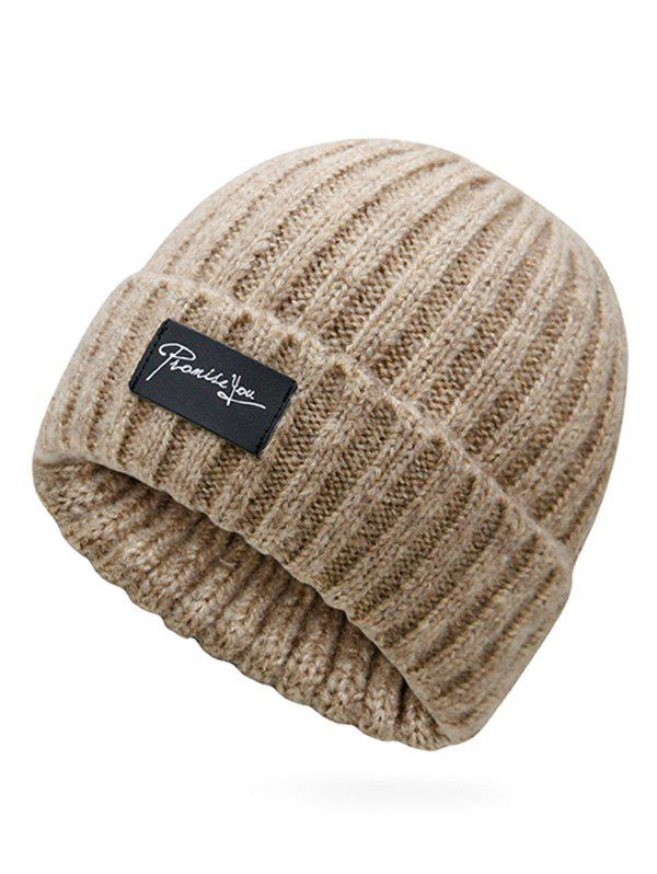 Buy Winter Label Flanging Crochet Knitted Beanie