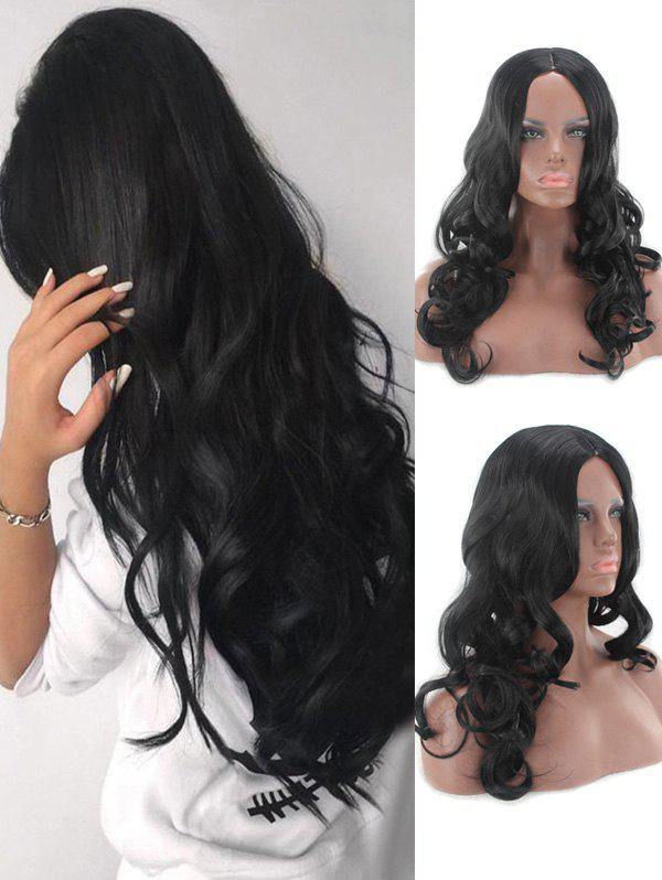 Buy Middle Part Long Loose Wave Capless Synthetic Wig