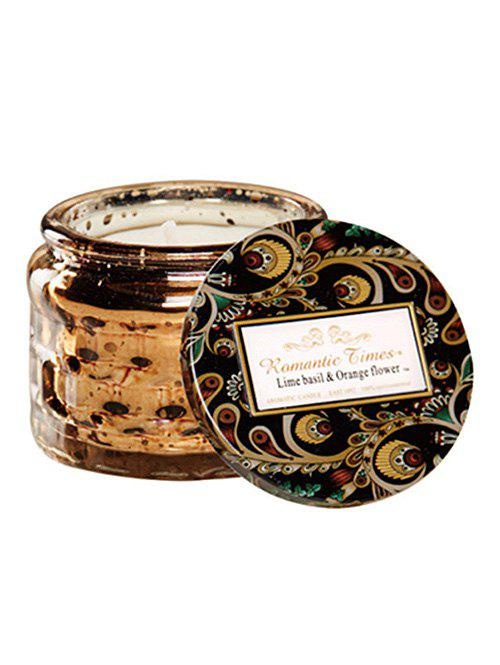New Starry Glass Jar Coconut Wax Scented Candle