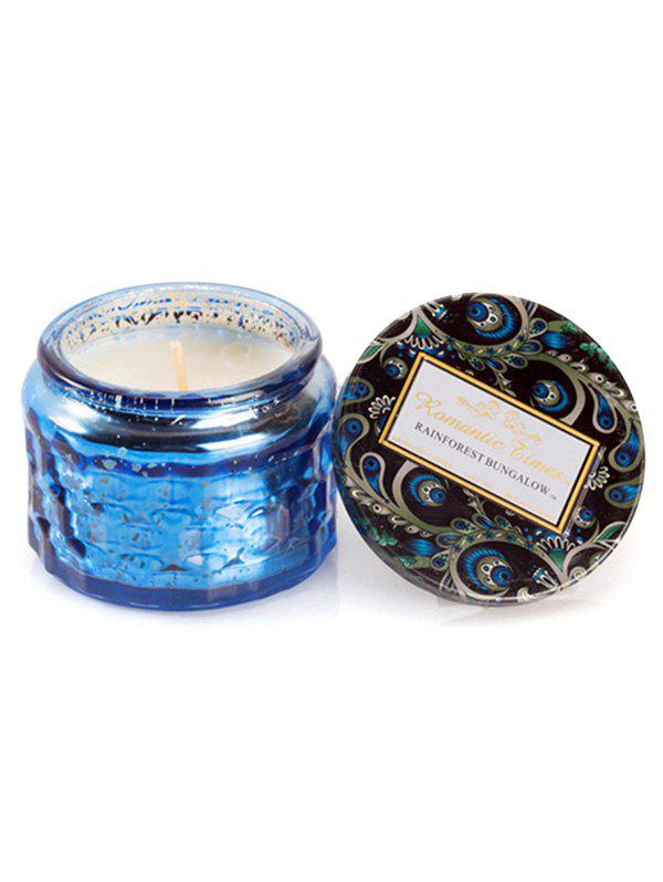 Chic Starry Glass Jar Coconut Wax Scented Candle