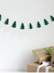 3D Christmas Tree Paper Garland Party Decoration -