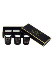 3PCS Scented Soy Wax Candle with Cup Set -
