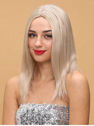 Medium Center Parting Straight Capless Synthetic Wig -