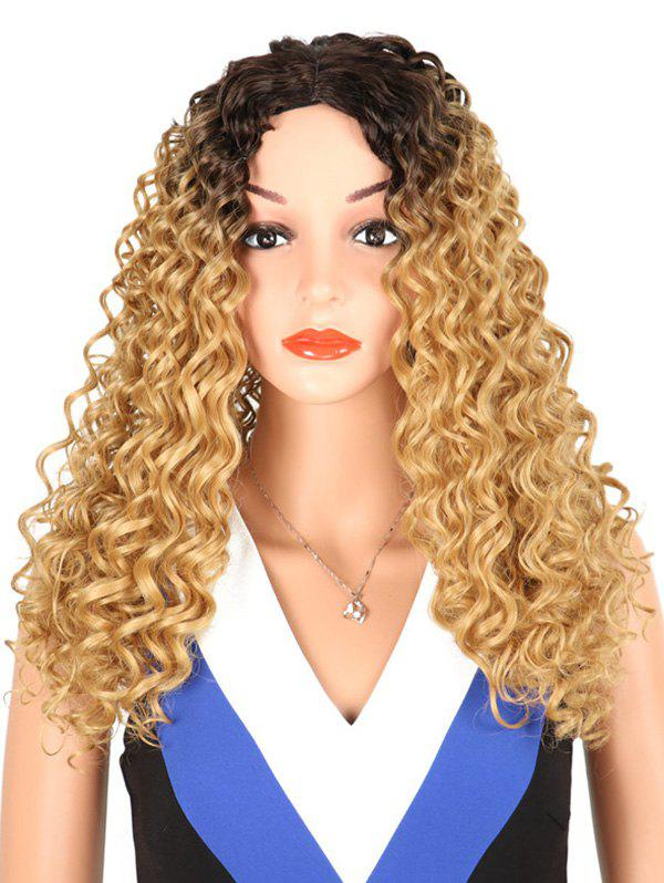 Store Synthetic Long Middle Part Kinky Curly Wig