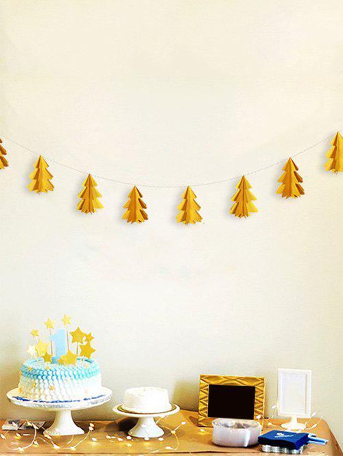Latest 3D Christmas Tree Paper Garland Party Decoration