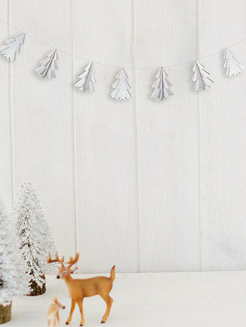 Fancy 3D Christmas Tree Paper Garland Party Decoration