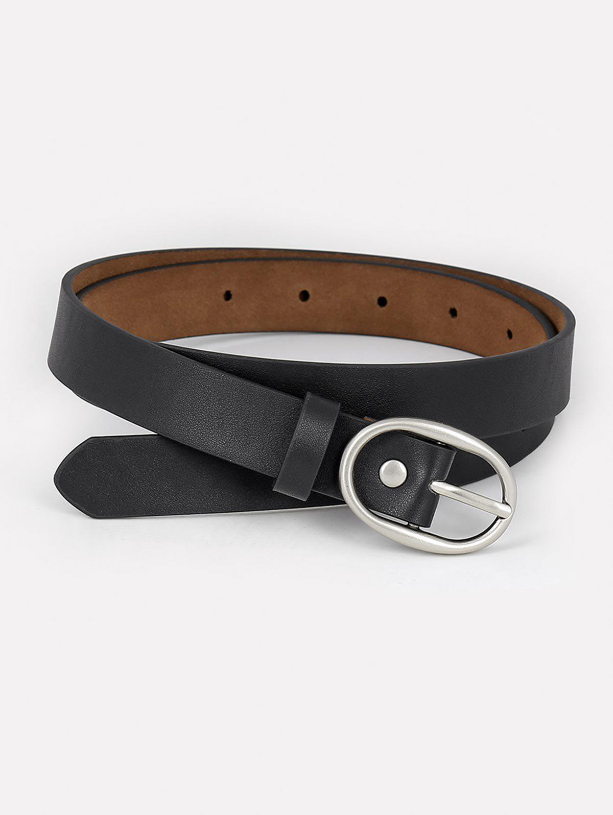 Fancy Faux Leather Simple Style Waist Belt