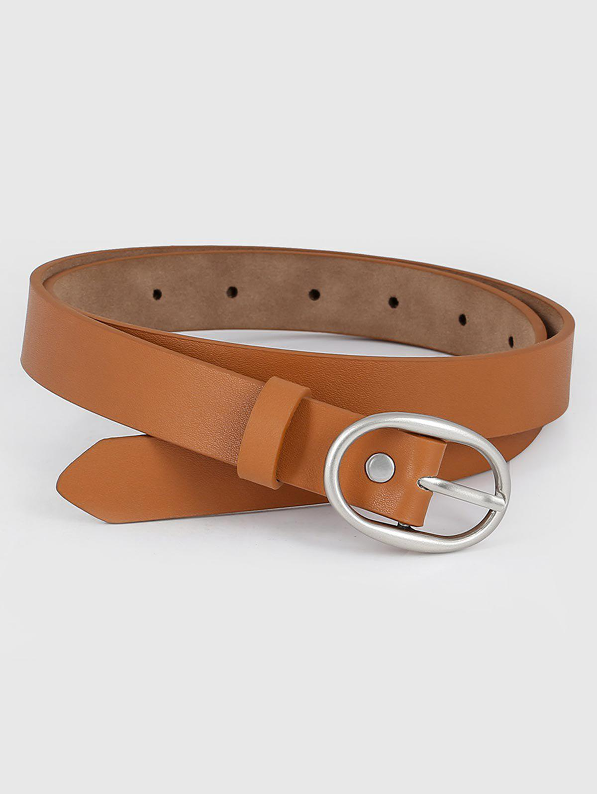Online Faux Leather Simple Style Waist Belt