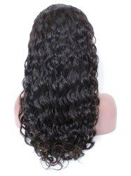 Free Part Wavy Human Hair Lace Front Wig -