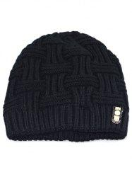 Solid Color Knit Warm Beanie -