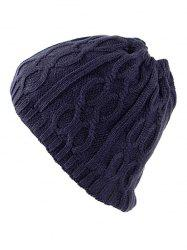 Multi-Use Drawstring Knit Hat Scarf -