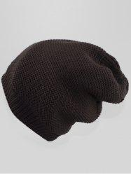 Solid Color Winter Slouchy Beanie -