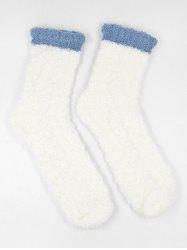 Coral Fleece Winter Floor Socks -
