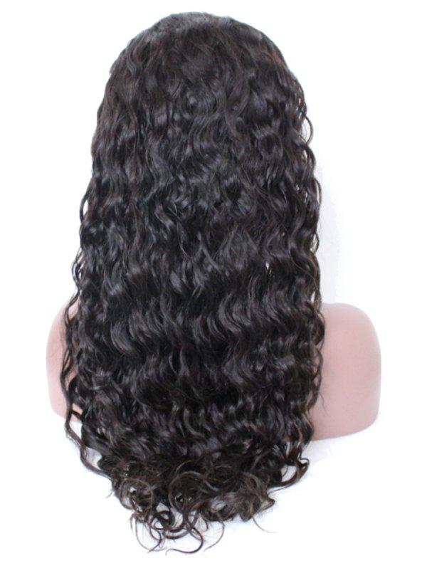 Hot Free Part Wavy Human Hair Lace Front Wig
