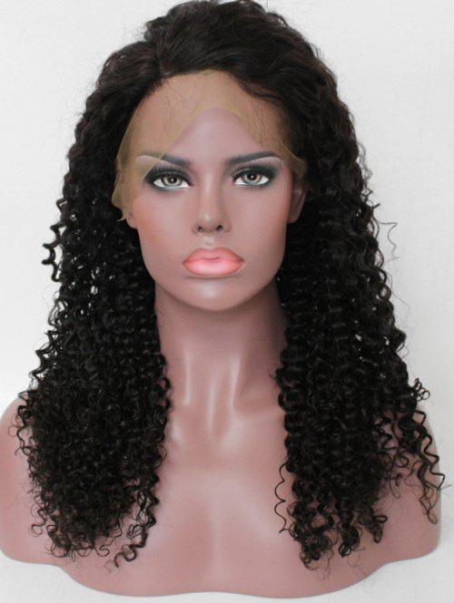 Store Free Part Human Hair Curly Lace Front Wig