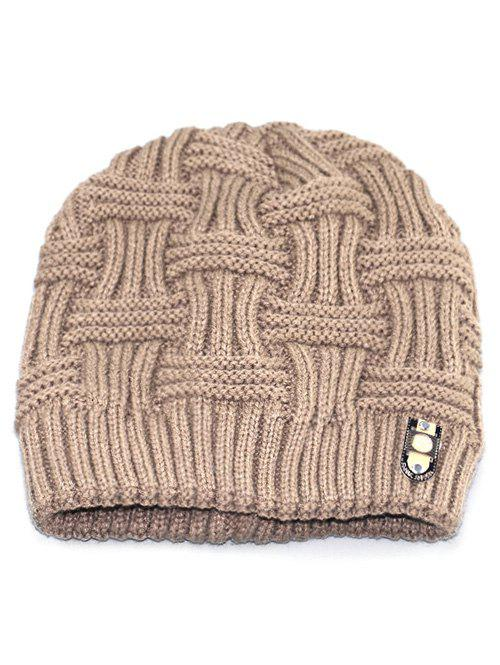 Buy Solid Color Knit Warm Beanie