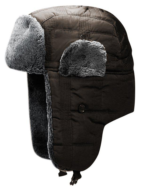 Buy Winter Solid Color Windproof Trapper Hat