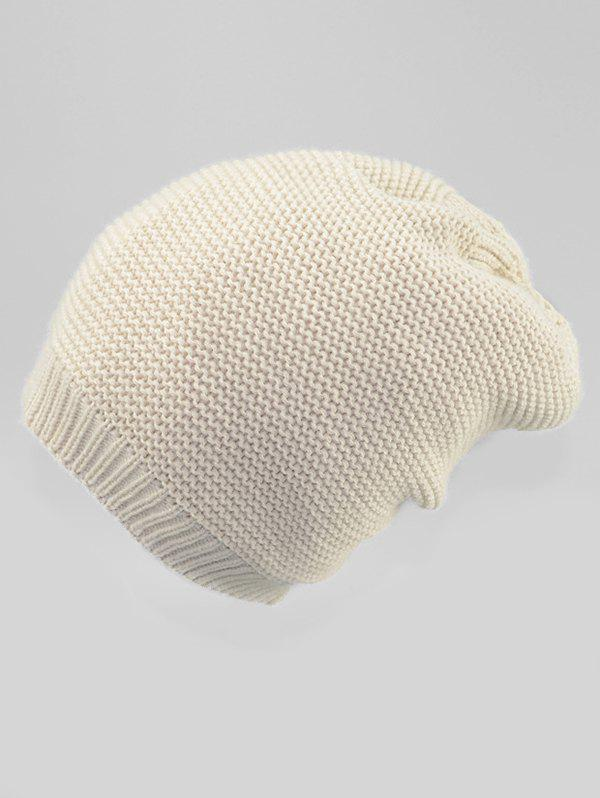 Fashion Solid Color Winter Slouchy Beanie
