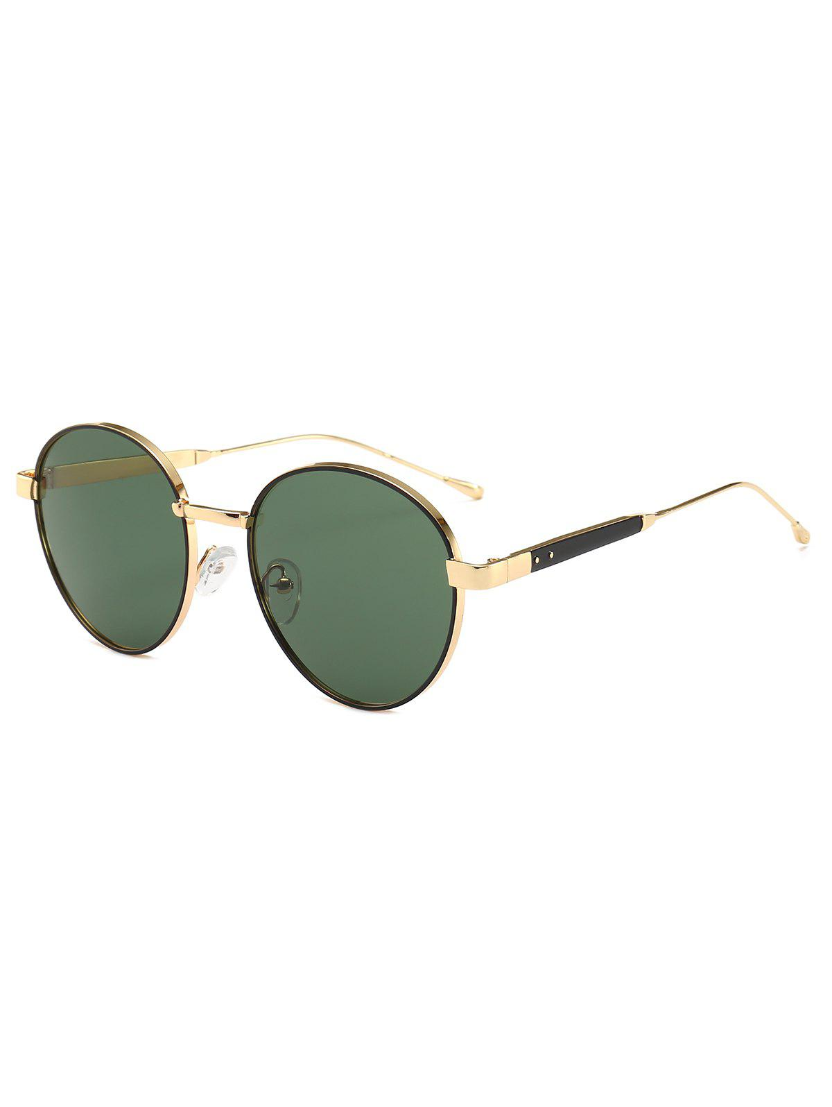 Buy Metal Frame Round Design Sunglasses