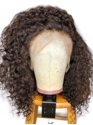 Medium Free Part Shaggy Kinky Curly Synthetic Lace Front Wig -