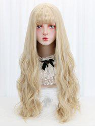 Full Bang Long Wavy Cosplay Lolita Synthetic Wig -