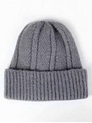 Flanging Knit Slouchy Beanie -