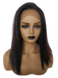 Medium Colormix Straight Party Synthetic Wig -