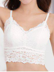 Wire Free Padded Lace Bra -
