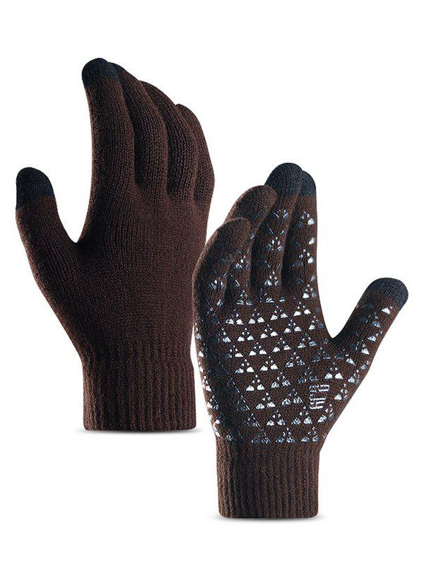 Outfits Fuzzy Winter Knitted Touchscreen Gloves