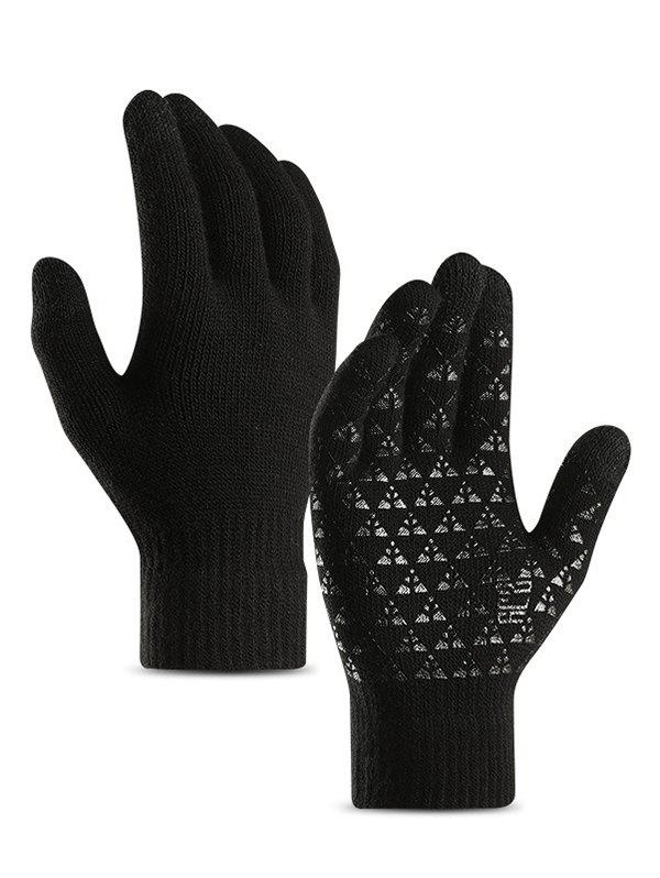 Discount Fuzzy Winter Knitted Touchscreen Gloves