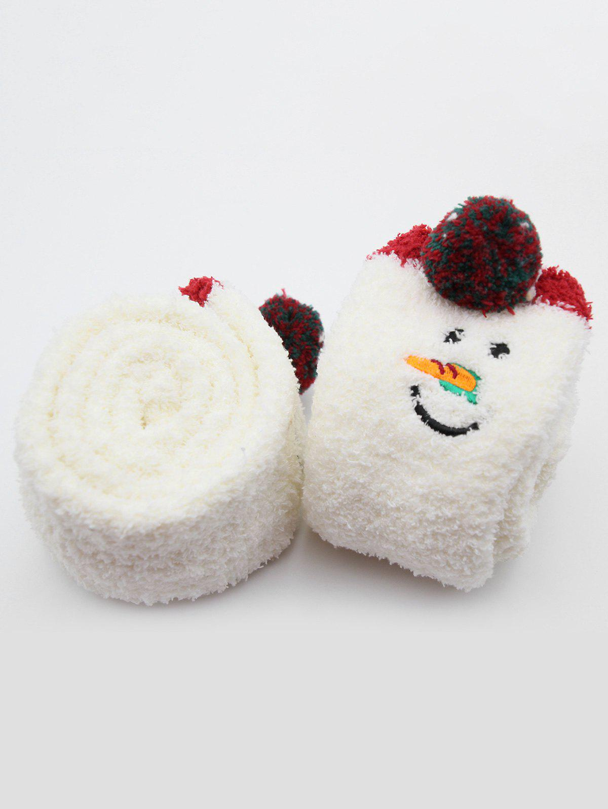 Best Unicorn Snowman Fuzzy Floor Socks