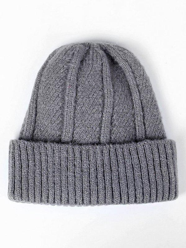 Hot Flanging Knit Slouchy Beanie