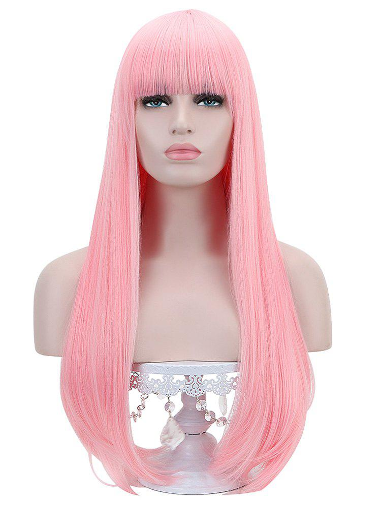 Fancy Full Bang Long Straight Party Lolita Synthetic Wig