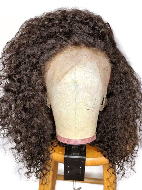 Buy Medium Free Part Shaggy Kinky Curly Synthetic Lace Front Wig