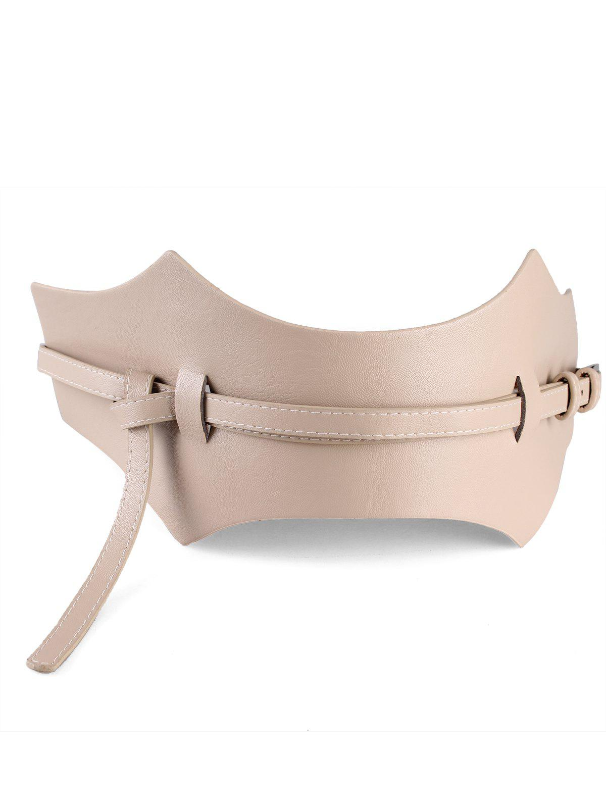 New Minimalist Super-Wide Waist Belt