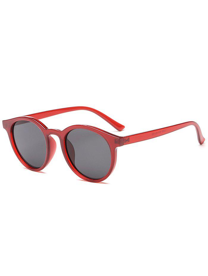 New Round Shape Simple Style Sunglasses