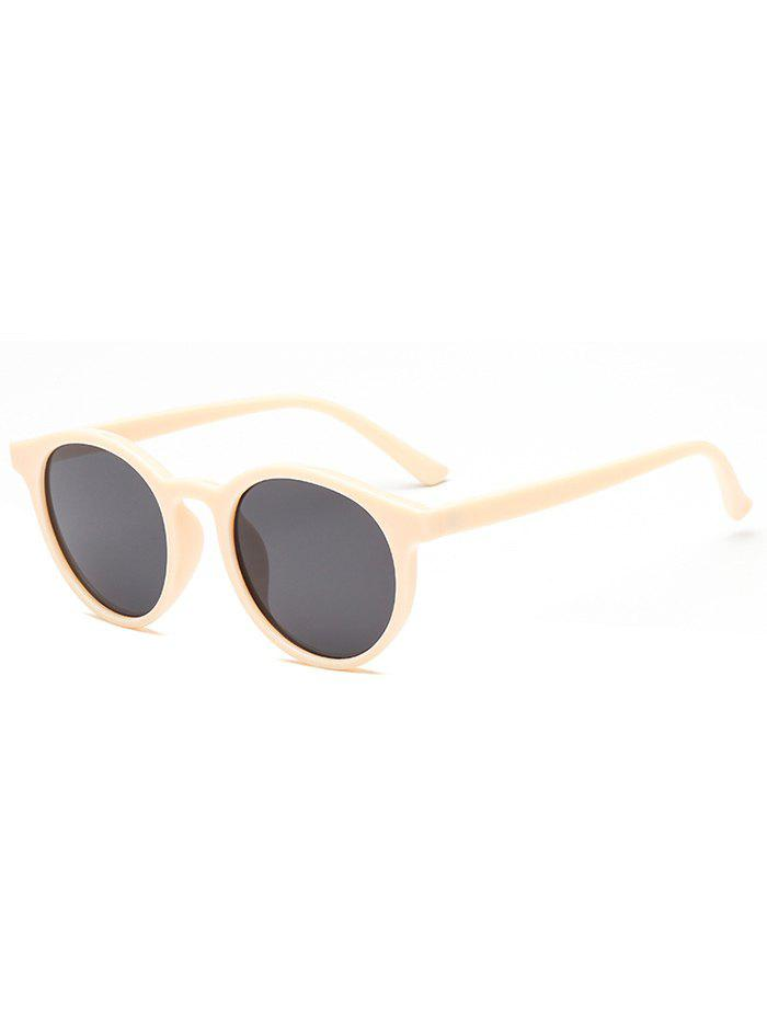 Store Round Shape Simple Style Sunglasses